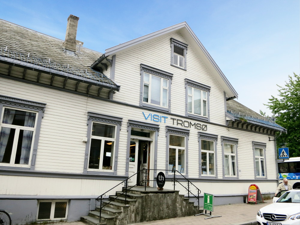 Tourist information office in Tromsø - one of many places with free Wi-Fi